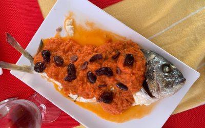 Oven Baked Fish à la Provençale