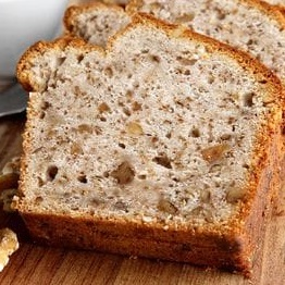 Banana-Almond Bread (gluten and dairy free)