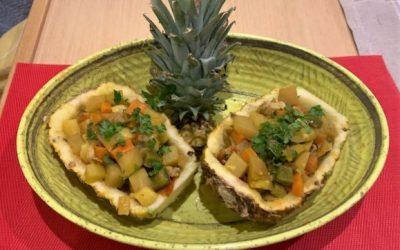 Caribbean Pineapple Curry
